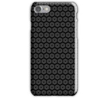 Benzene Rings (Black) iPhone Case/Skin