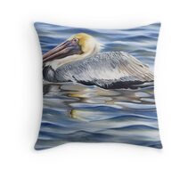Cedar Point Pelican Throw Pillow