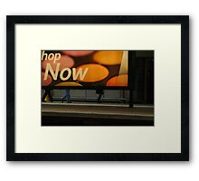 hop NOW Framed Print
