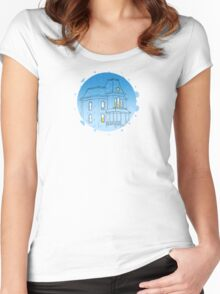 Bates Motel - Psycho Women's Fitted Scoop T-Shirt