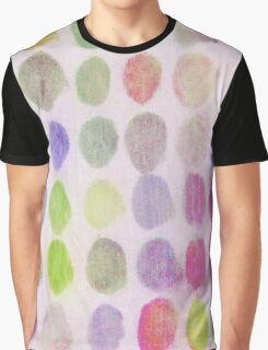 Pink, Yellow, Purple Spots Graphic T-Shirt