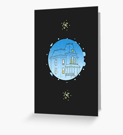 Bates Motel - Psycho Greeting Card