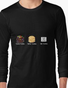 NO ally cookies Long Sleeve T-Shirt