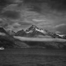 Sailing under the Mountains by Linda Cutche