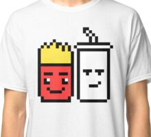 8 Bit Fries and Shake Classic T-Shirt