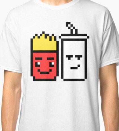 8 Bit Fries and Shake Classic T-Shirt