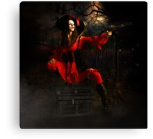 Stand & Deliver- The Highwaywoman Canvas Print