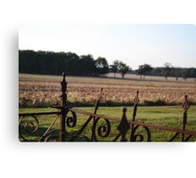 Lonely Field Canvas Print