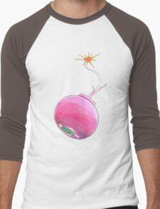 Radish Bomb Men's Baseball ¾ T-Shirt