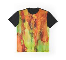 Indian Paintbrush abstract explosion! Graphic T-Shirt