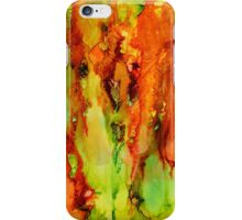 Indian Paintbrush abstract explosion! iPhone Case/Skin