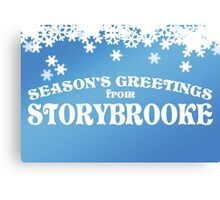 Season's Greetings from Storybrooke Canvas Print