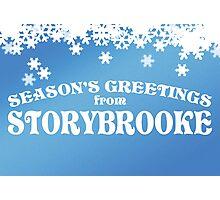 Season's Greetings from Storybrooke Photographic Print