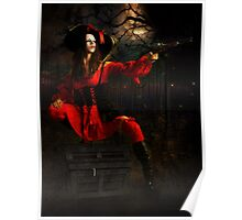 Stand and Deliver Highway woman Card Poster