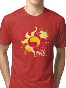 Sunset Shimmer Cutie Mark Tri-blend T-Shirt