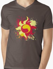 Sunset Shimmer Cutie Mark Mens V-Neck T-Shirt