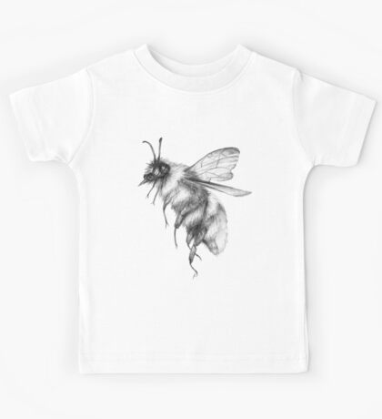 Bumblebee Sketch Kids Tee