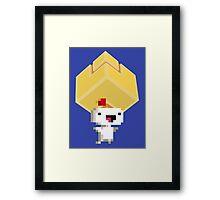 Cube Get! Framed Print