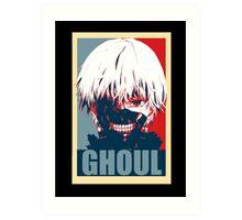 Kaneki Tokyo Ghoul Art Print