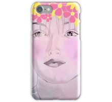 Floral garland iPhone Case/Skin
