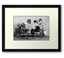 Saigon Way Framed Print