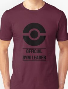 Official Gym Leader Brand Unisex T-Shirt