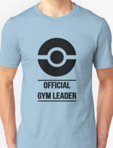 Official Gym Leader Brand Unisex T-Shirt