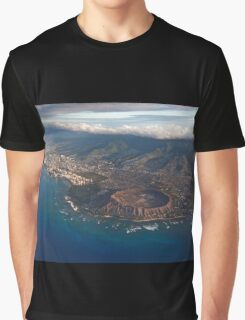 Diamond Head Crater 2 Graphic T-Shirt