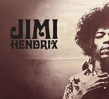 Jimi Hendrix by harryfowler