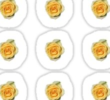 Tiny Yellow Roses Sticker