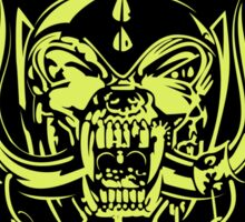 Motorhead (No Remorse) Colour Sticker