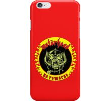 Motorhead (No Remorse) Colour iPhone Case/Skin