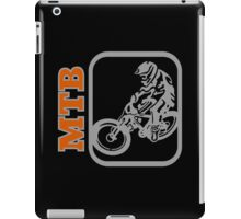 Downhill Mountain Bike iPad Case/Skin