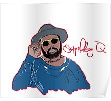 ScHoolboy Q - Cartoon Poster