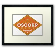 OSCORP Industries Framed Print