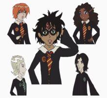 Harry Potter Cast Favorites  One Piece - Short Sleeve