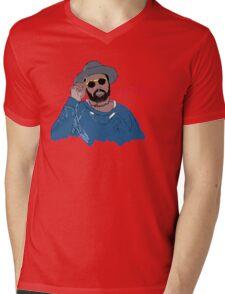 ScHoolboy Q - Cartoon Mens V-Neck T-Shirt