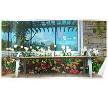 Flower Bench Poster