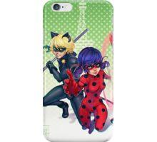 Miraculous Ladybug & Cat Noir iPhone Case/Skin