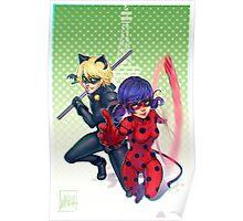 Miraculous Ladybug & Cat Noir Poster