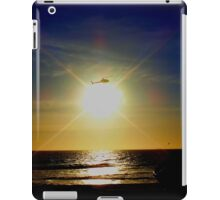 Chopping the Sunset! iPad Case/Skin