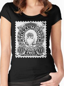 Mullumbimby Stamp Women's Fitted Scoop T-Shirt