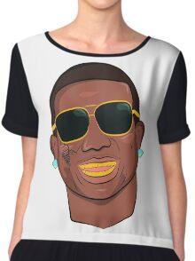 Gucci Mane Cartoon Chiffon Top