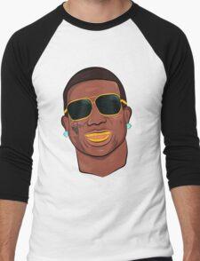 Gucci Mane Cartoon Men's Baseball ¾ T-Shirt