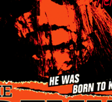 """The Devil Walks Among Us"" - By Dr. Samual Loomis (Notorious Michael A. Myers)  Sticker"