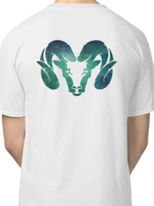 Aqua Rams Head Spirit Animal Classic T-Shirt