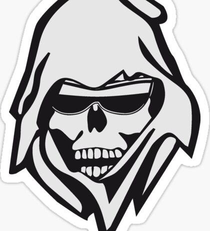 Death sunglasses Sticker