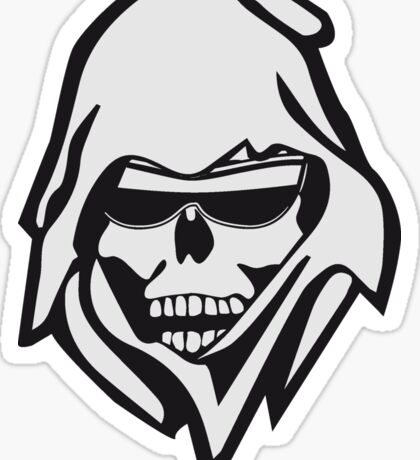 Death sunglasses Sticker