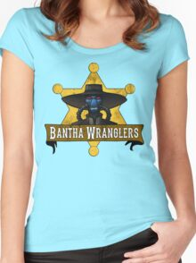 bw Women's Fitted Scoop T-Shirt