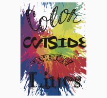 Color Outside the Line Kids Clothes